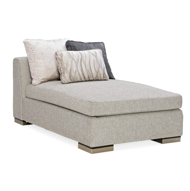 EDGE ARMLESS CHAISE