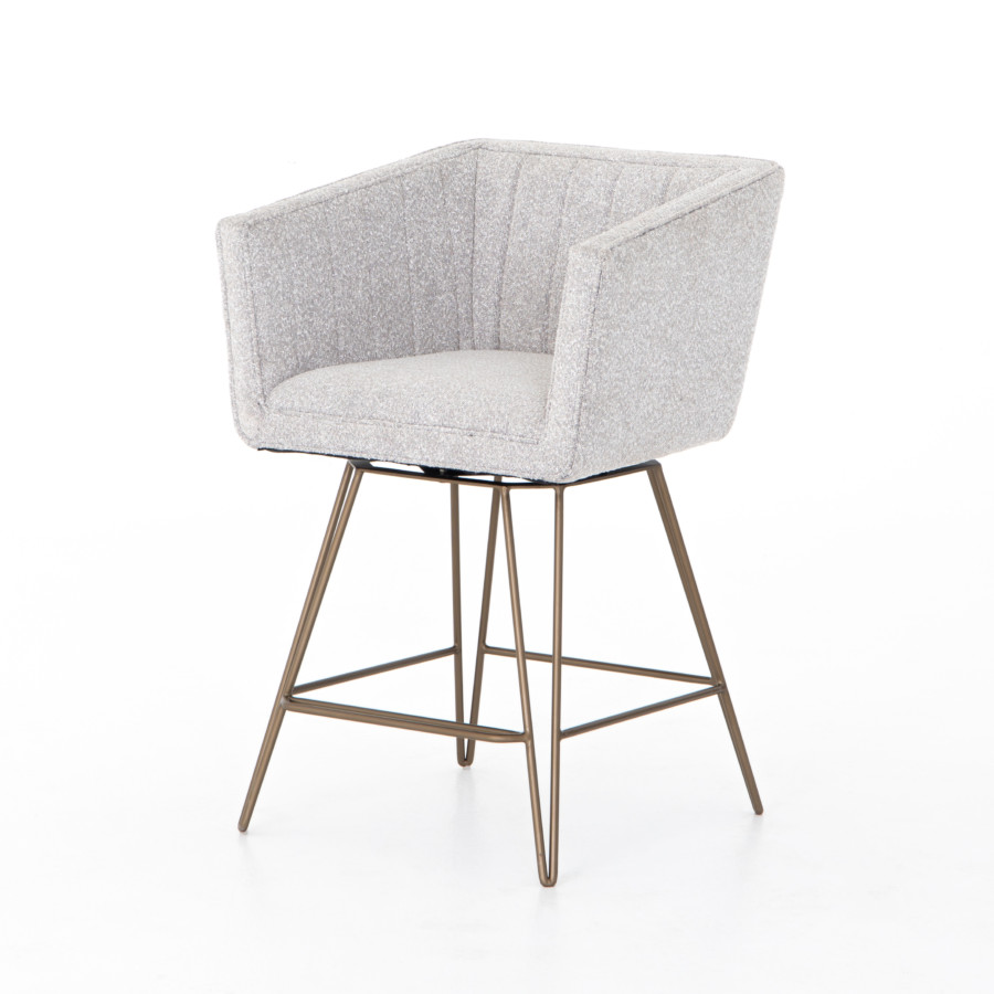 Rooney Swivel Stool-Elder Sable-Counter