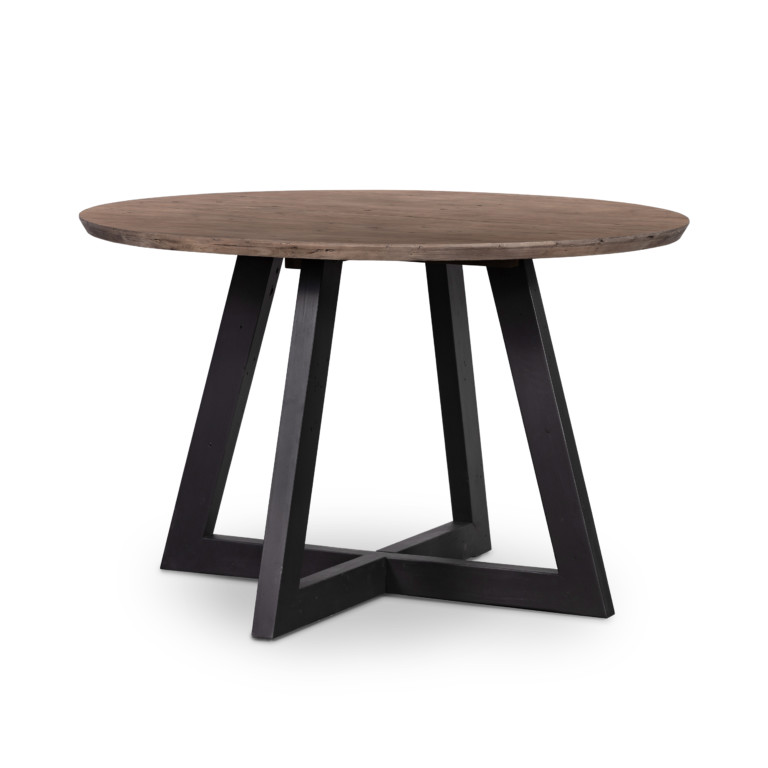 "Viva Round Dining Table 47""-Sundried Ash"