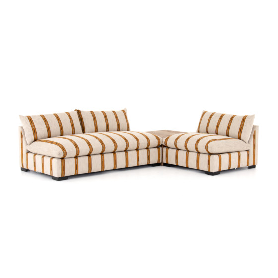 GRANT SECTIONAL W/ CHAIR