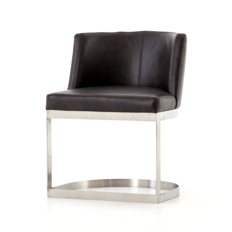 Wexler Leather Dining Chair - Los Angeles