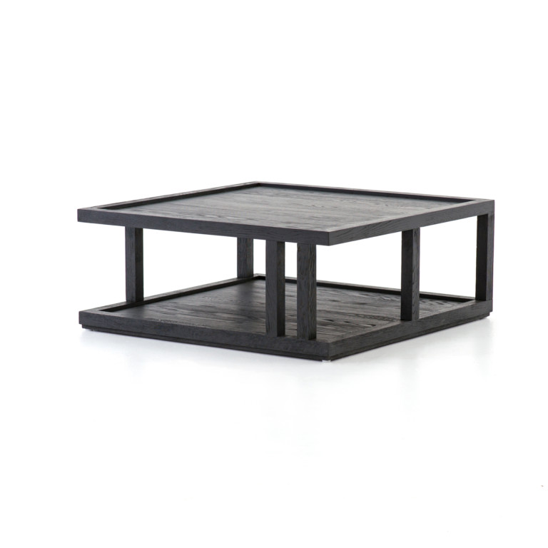 Charley Coffee Table-Drifted Black