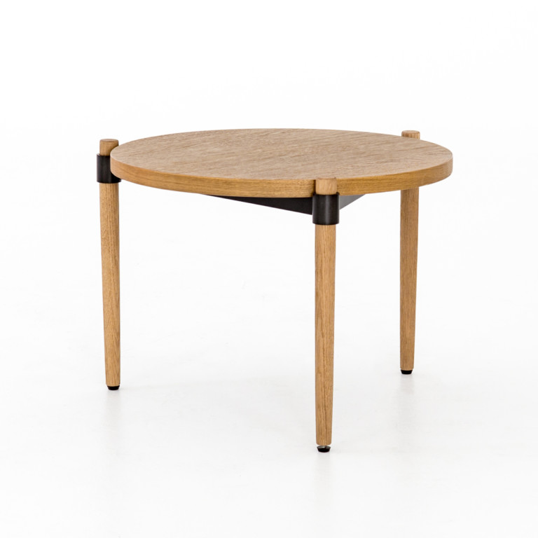 Holmes Cocktail Table-Smoked Drift Oak