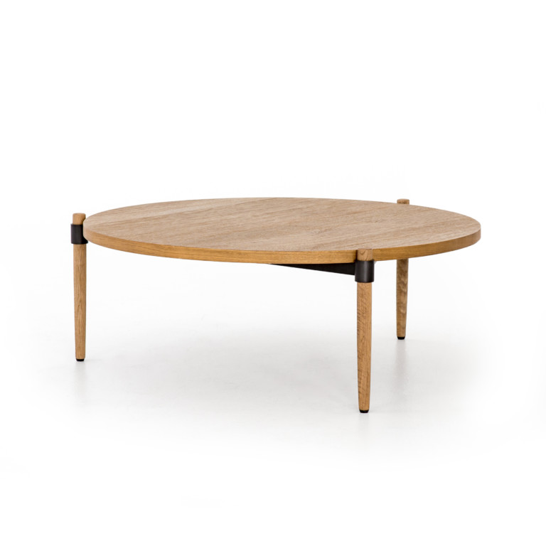 Holmes Coffee Table-Smoked Drift Oak