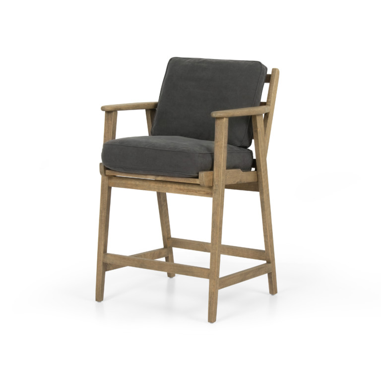 BROOKS BAR + COUNTER STOOL