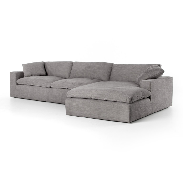 PLUME TWO-PIECE SECTIONAL-136""