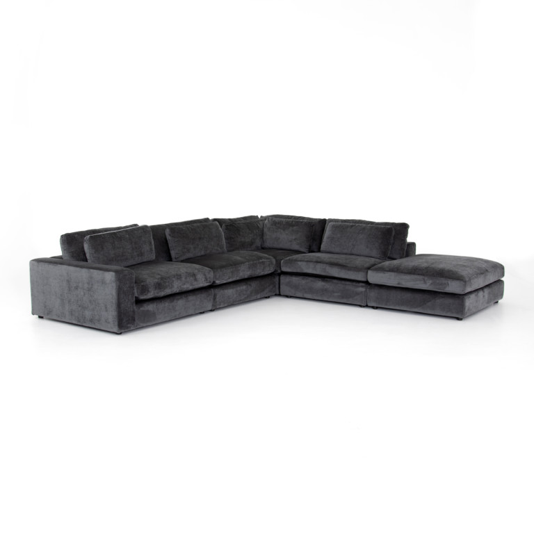 Bloor 4 Piece Sectional Laf W/ Ottoman