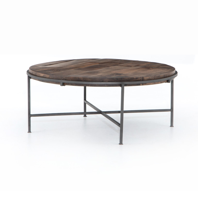 Simien Round Coffee Table - Los Angeles