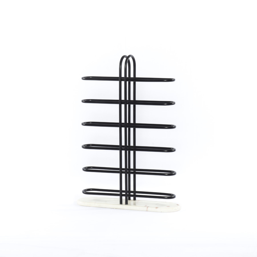 Blaze Wine Rack-Matte Black