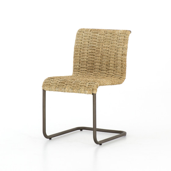 Grover Cantilever Chair-Light Natural