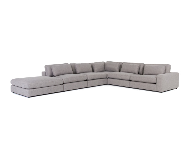 Bloor 5-Pc Raf Sectional W/ Ottoman-Ches