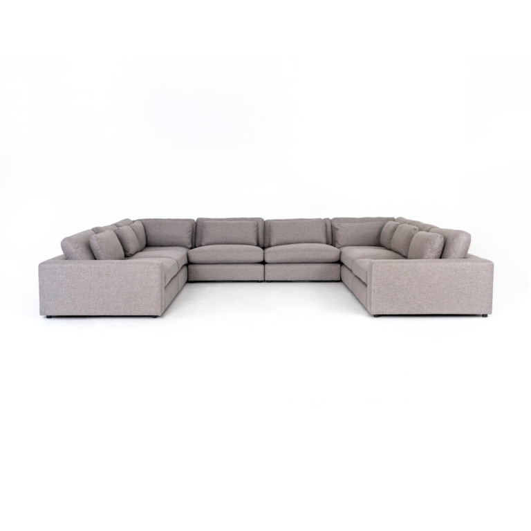 Bloor 8-Pc Sectional-Chess Pewter