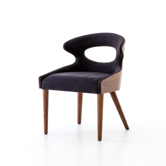 Tatiana walnut dining chairs Chair