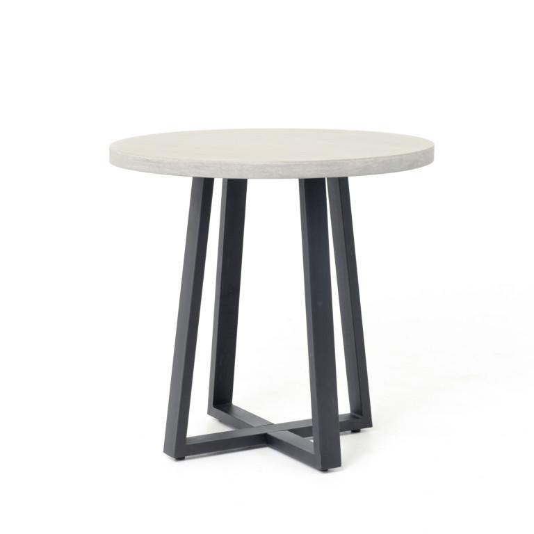 Cyrus Round Iron Base Table -Los Angeles